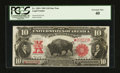 Large Size:Legal Tender Notes, Fr. 120 $10 1901 Legal Tender Star Note PCGS Extremely Fine 40.....