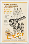 "Movie Posters:Sexploitation, Swedish Fly Girls Lot (Trans American, 1972). One Sheets (2) (27"" X41""). Sexploitation.. ... (Total: 2 Items)"