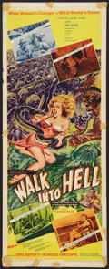 "Movie Posters:Adventure, Walk into Hell (Patric, 1957). Insert (14"" X 36""). Adventure.. ..."