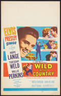 """Movie Posters:Elvis Presley, Wild in the Country Lot (20th Century Fox, 1961). Window Card (14""""X 22"""") and Insert (14"""" X 36"""") . Elvis Presley.. ... (Total: 2Items)"""