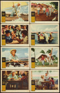 """Movie Posters:Adventure, The Old Man and the Sea (Warner Brothers, 1958). Lobby Card Set of8 (11"""" X 14""""). Adventure.. ... (Total: 8 Items)"""