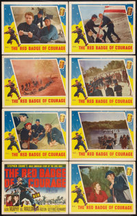"The Red Badge of Courage (MGM, 1951). Lobby Card Set of 8 (11"" X 14""). War. ... (Total: 8 Items)"