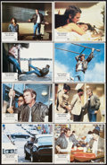 "Movie Posters:Action, The Hunter (Paramount, 1980). Lobby Card Set of 8 (11"" X 14"").Action.. ... (Total: 8 Items)"