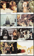 "Movie Posters:Science Fiction, Star Wars Lot (20th Century Fox, 1982). Mini Lobby Card Set of 8(8"" X 10"") and Photos (3) (8"" X 10""). Science Fiction.. ... (Total:11 Items)"