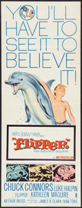 """Movie Posters:Adventure, Flipper Lot (MGM, 1963). Inserts (2) (14"""" X 36""""). Adventure.. ...(Total: 2 Items)"""
