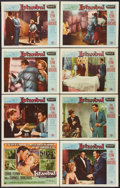 "Movie Posters:Adventure, Istanbul (Universal International, 1957). Lobby Card Set of 8 (11""X 14""). Adventure.. ... (Total: 8 Items)"