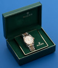 Timepieces:Wristwatch, Rolex Gent's Ref. 16000 Two Tone Oyster Perpetual Datejust, circa 1980. ...