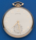 Timepieces:Pocket (post 1900), Hamilton 23 Jewel, Grade 945, 12 Size Pocket Watch. ...