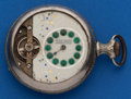 Timepieces:Pocket (post 1900), Swiss 16 Size, 8 Day Parts Watch. ...