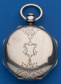 Timepieces:Pocket (pre 1900) , Joseph Johnson Lever Fusee Silver Hunter Case For Restoration. ...