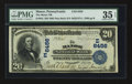 National Bank Notes:Pennsylvania, Manor, PA - $20 1902 Date Back Fr. 642 The Manor NB Ch. # (E)6456....