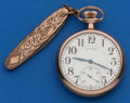 Timepieces:Pocket (post 1900), Illinois 17 Jewel, 16 Size James Garfield. ...