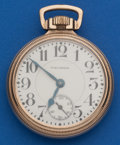 Timepieces:Pocket (post 1900), Waltham 21 Jewel, 16 Size Crescent Street. ...