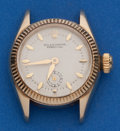 Timepieces:Wristwatch, Rolex Reference 6509 Ladies 14k Gold Oyster Perpetual. ...