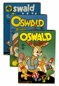 Golden Age (1938-1955):Funny Animal, Four Color Oswald the Rabbit Group (Dell, 1944-61) Condition:Average VG.... (Total: 16 Comic Books)