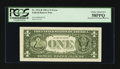 Fr. 1912-H $1 1981A Federal Reserve Note. PCGS Choice About New 58PPQ