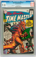 Silver Age (1956-1969):Science Fiction, Rip Hunter Time Master #1 (DC, 1961) CGC VF- 7.5 Off-white to white pages....
