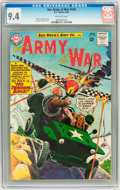 Silver Age (1956-1969):War, Our Army at War #140 (DC, 1964) CGC NM 9.4 Off-white pages....