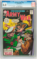 Silver Age (1956-1969):War, Our Army at War #138 (DC, 1964) CGC VF 8.0 Off-white to white pages....
