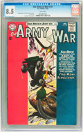 Silver Age (1956-1969):War, Our Army at War #137 (DC, 1963) CGC VF+ 8.5 White pages....