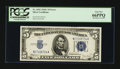 Error Notes:Ink Smears, Fr. 1653 $5 1934C Silver Certificate. PCGS Gem New 66PPQ.. ...