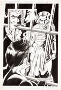 Original Comic Art:Splash Pages, Chuck Patton and Bob Smith The Outsiders Special #1 Splashpage 5 Original Art (DC, 1987)....