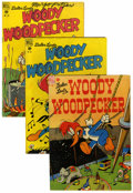 Golden Age (1938-1955):Cartoon Character, Four Color Woody Woodpecker Group (Dell, 1948-52) Condition: VG....(Total: 11 Comic Books)