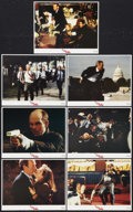 """Movie Posters:Thriller, In the Line of Fire Lot (Columbia, 1993). Lobby Cards (2) (11"""" X 14"""") and International Mini Lobby Cards (7) (8"""" X 10""""). Thr... (Total: 9 Items)"""