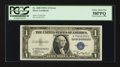 Error Notes:Ink Smears, Fr. 1608 $1 1935A Silver Certificate. PCGS Choice About New 58PPQ.....