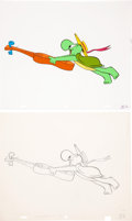Animation Art:Limited Edition Cel, The Pogo Special Birthday Special Animation Production Cel and Clean-Up Drawing Original Art Group (MGM/Chuck Jones Pr... (Total: 8 Items)