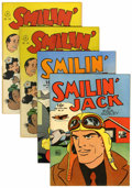 Golden Age (1938-1955):Miscellaneous, Four Color Smilin' Jack Group (Dell, 1944-47).... (Total: 4 Comic Books)