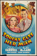 "Movie Posters:Mystery, Torchy Gets Her Man (Warner Brothers, 1938). Other Company OneSheet (27"" X 41""). Mystery.. ..."