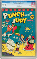 Golden Age (1938-1955):Humor, Punch and Judy Comics #6 Vancouver pedigree (Hillman Publications, 1946) CGC NM- 9.2 White pages....