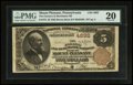 National Bank Notes:Pennsylvania, Mount Pleasant, PA - $5 1882 Brown Back Fr. 472 The Farmers &Merchants NB Ch. # 4892. ...