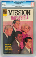 Silver Age (1956-1969):Adventure, Mission: Impossible #4 File Copy (Dell, 1968) CGC NM+ 9.6 Off-white pages....
