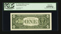 Error Notes:Miscellaneous Errors, Fr. 1912-H $1 1981A Federal Reserve Note. PCGS Choice New 63PPQ.. ...