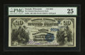 National Bank Notes:Wisconsin, Neenah, WI - $20 1882 Value Back Fr. 581 The National Manufacturers Bank Ch. # (M)6034. ...