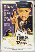 """Movie Posters:Thriller, The Terror of the Tongs (Columbia, 1961). One Sheet (27"""" X 41""""). Thriller.. ..."""