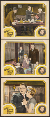 """Stepping Lively (FBO, 1924). Lobby Cards (3) (11"""" X 14""""). Drama. ... (Total: 3 Items)"""