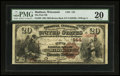National Bank Notes:Wisconsin, Madison, WI - $20 1882 Brown Back Fr. 493 The First NB Ch. # 144. ...