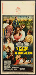 "Movie Posters:Drama, Home from the Hill Lot (MGM, 1960). Italian Locandine (2) (13"" X27.5""). Drama.. ... (Total: 2 Items)"