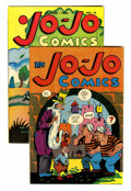 Golden Age (1938-1955):Funny Animal, Jo-Jo Comics #nn and 2 Group (Fox Features Syndicate, 1945-46)Condition: Average FN/VF.... (Total: 2 Comic Books)
