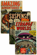 Silver Age (1956-1969):Horror, Atlas Silver Age Horror/Monster Reading Copies Group (Atlas,1950s-60s) Condition: Average FR.... (Total: 18 Comic Books)