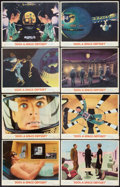 """Movie Posters:Science Fiction, 2001: A Space Odyssey (MGM, 1968). Lobby Card Set of 8 (11"""" X 14"""").Science Fiction.. ... (Total: 8 Items)"""
