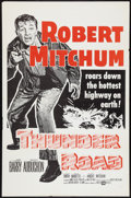 """Movie Posters:Crime, Thunder Road Lot (United Artists, R-1962). One Sheet (27"""" X 41"""") and Lobby Card (11"""" X 14""""). Crime.. ... (Total: 2 Items)"""