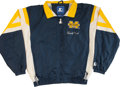 Football Collectibles:Uniforms, Gerald Ford Signed Michigan Jacket....