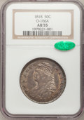 Bust Half Dollars: , 1818 50C AU55 NGC. CAC. O-106a. NGC Census: (62/204). PCGSPopulation (69/156). Mintage: 1,960,322. Numismedia Wsl. Price ...