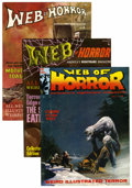 Magazines:Horror, Web of Horror #1-3 Group (Major Magazines, 1969-70) Condition: Average FN/VF.... (Total: 3 Comic Books)