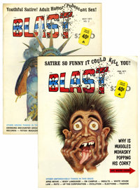 Blast #1 and 2 Group (G & D Publications, 1971) Condition: Average FN.... (Total: 2 Comic Books)