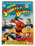 Golden Age (1938-1955):Religious, Picture Stories from the Bible Old Testament #2 (DC, 1942) Condition: FN/VF....